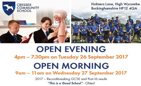All welcome to our upcoming open events!