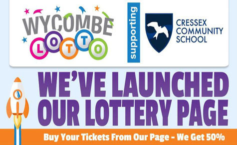 Support us and WIN with the Cressex Wycombe Lotto Page!