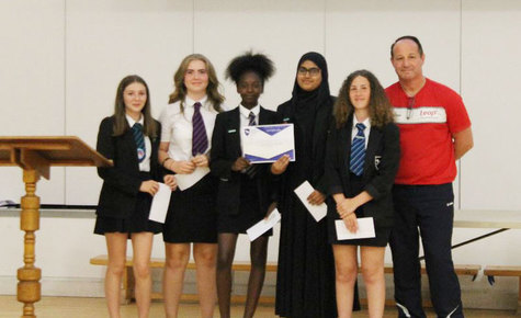 Sporting Successes Celebrated at Inaugural PE Awards Evening