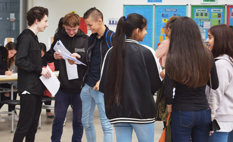 Another record breaking year for GCSE results at Cressex Community School
