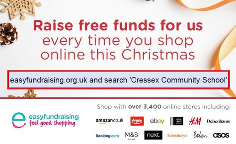 Help raise additional funds for Cressex when you shop this Christmas