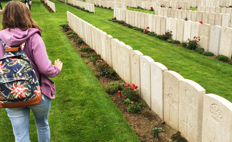 Cressex Community School Students Travel To First World War Battlefields