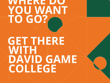 Get there with David Game College