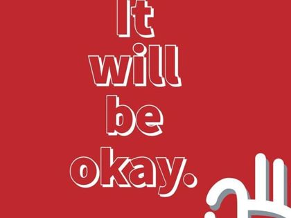 It's ok not to be ok.