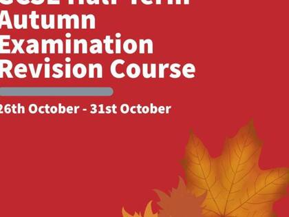 Autumn Half-Term GCSE Revision Course