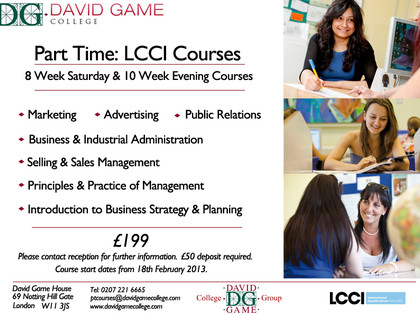 Part-Time Courses