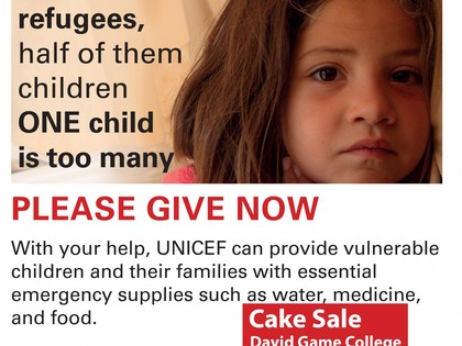 Children of Syria: Cake Sale