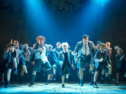 GCSE Students trip to Matilda the Musical