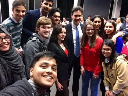 A Level Politics Class Meet Ed Miliband
