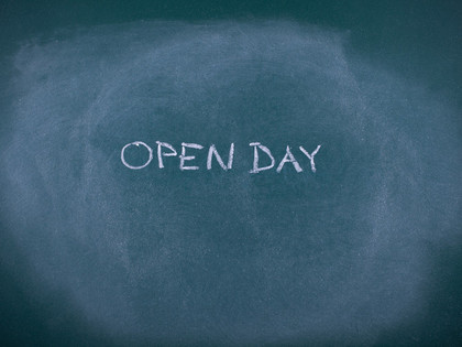 Open Day on Tuesday 25th of October 10am-6pm