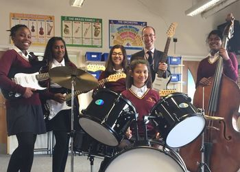 EWS Music students win a 'Rock Pack'