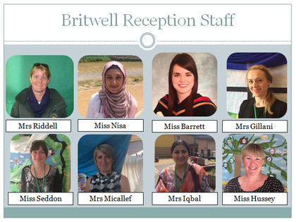 Britwell reception staff
