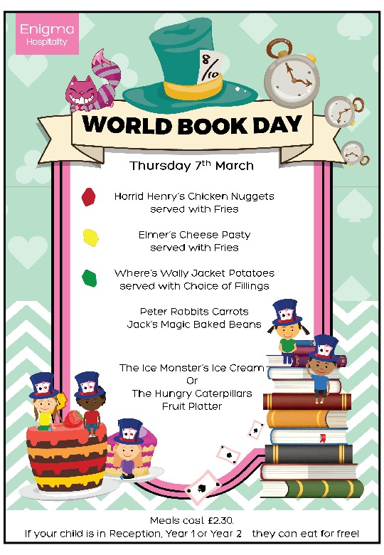 World book day britwell 2019