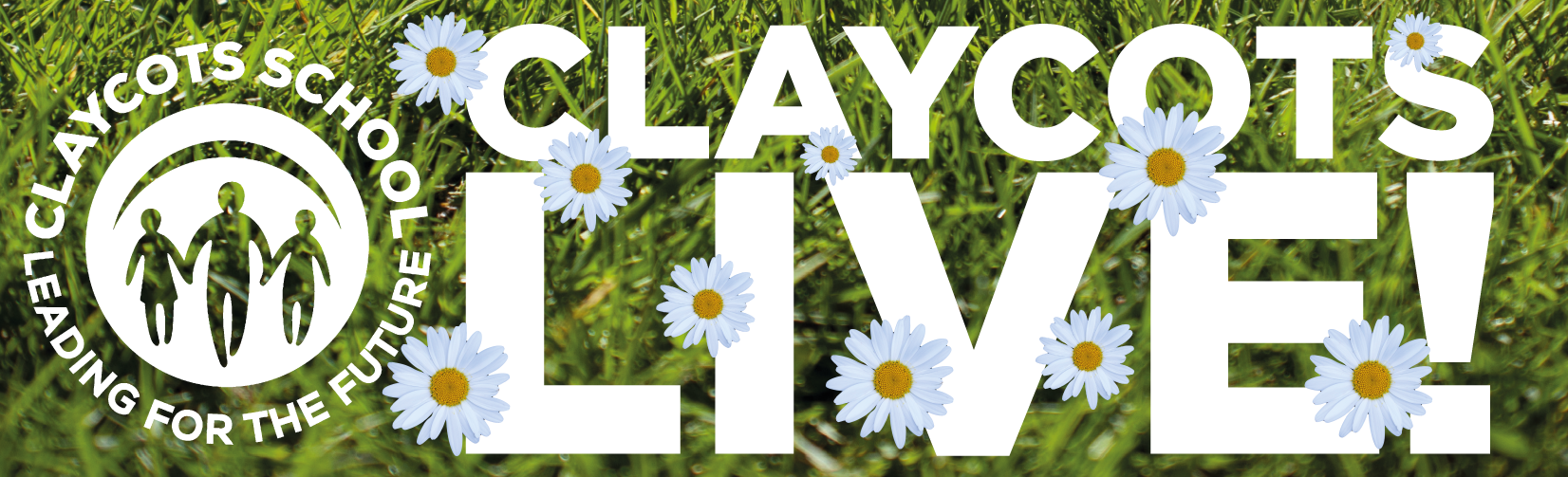 Claycots live logo