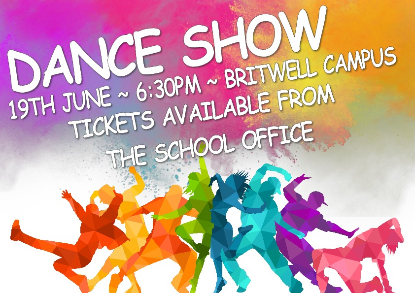 Dance show poster