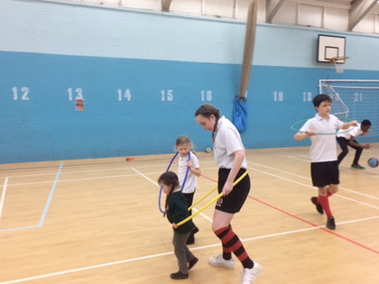 PE sessions for SEND pupils a success