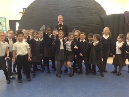 Visiting space for Science Week