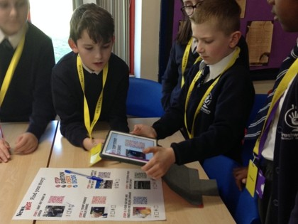Young writers take on role as journalists