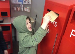Children send letters home