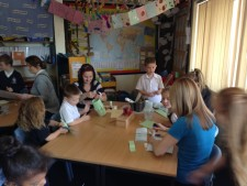 Pupils in Year 2 share Sukkot with thier families (2)