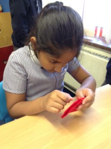 Sewing Tudor roses Year 3 and 4 (4)