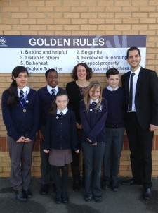 Politician Suzy Stride visit to Year 6