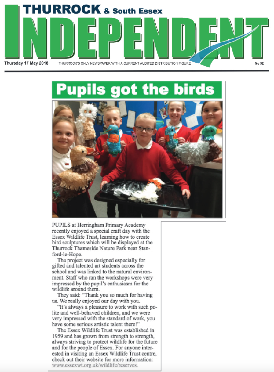 Thurrock Independent 17 May 2018 HPA Essex Wildlife Day