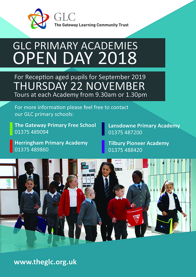 GLC Open Day (Primaries) A4