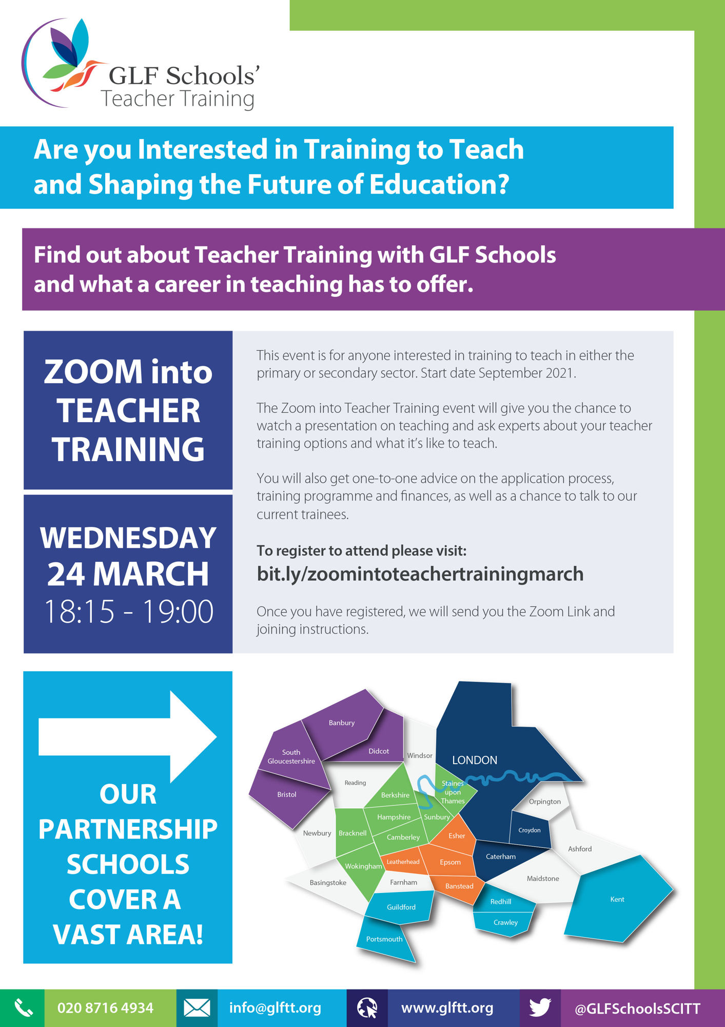 Train to Teach Flyer A4   2021   MARCH   TWITTER