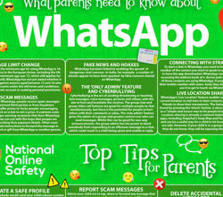 E Safety Update: What parents need to know about Whats App
