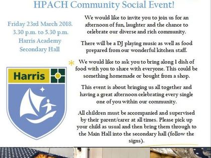 HPACH Community Evening 2018