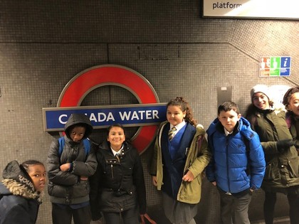 Year 6 trip to the London Eye