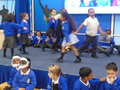 Gingerbread Man Class Assembly