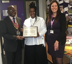 Harris Primary Academy Mayflower Awarded Diversity Gold Award!