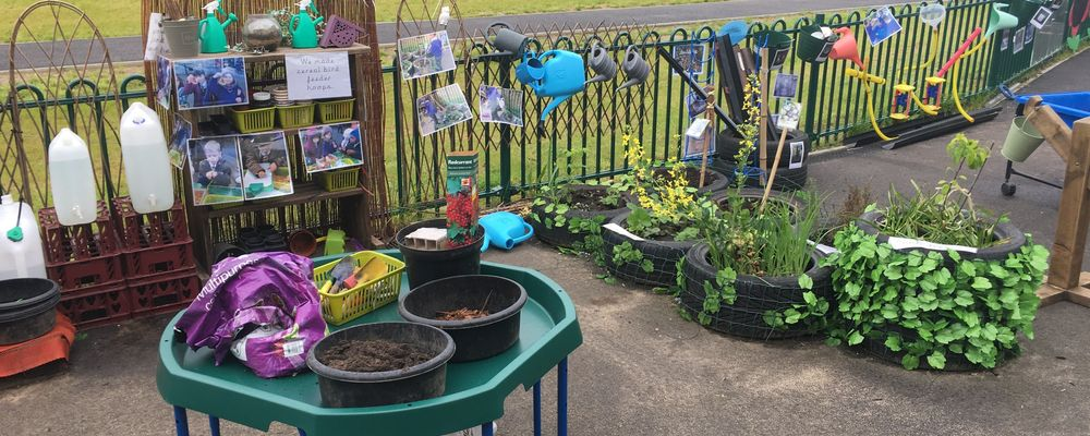Our EYFS Outdoor Area