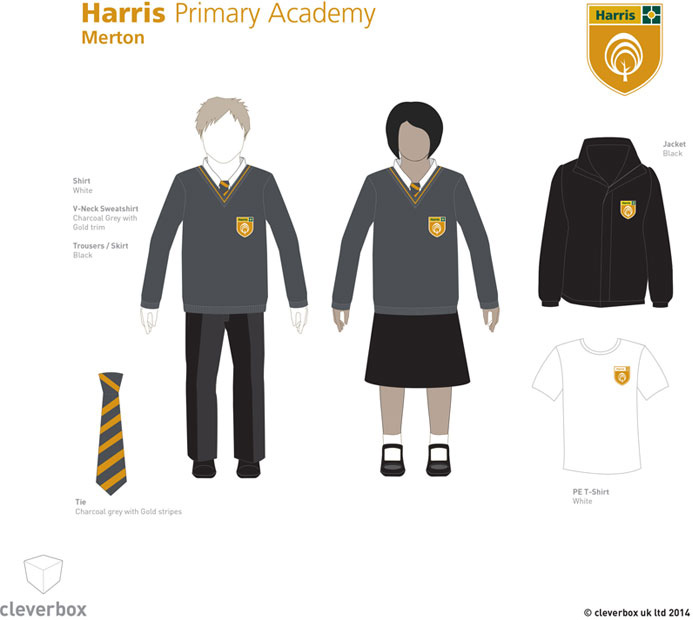 Harris_Primary_Merton_Uniform_Board