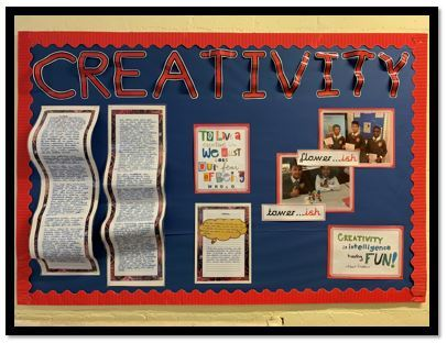 Creativity display