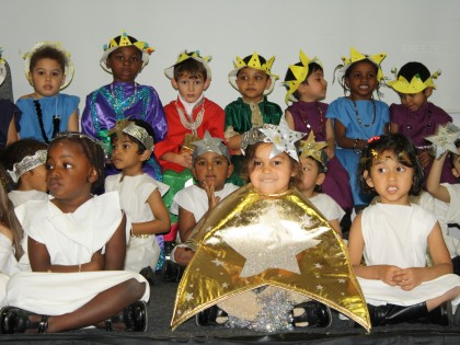 EYFS Christmas Production 2016