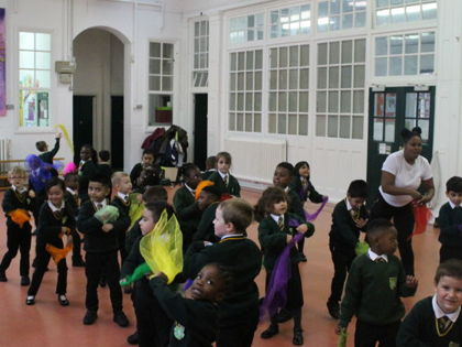 Black History Month Dance Work...