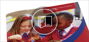 Harris Primary Purley Prospectus Button Actual Size