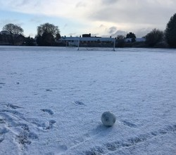 Snow Worries for Year 10 Football Team