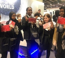 Students Visit 'New Scientist Live' Exhibition