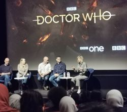 Students Meet Doctor Who at Special Screening