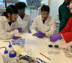 Biology Students use Imperial College Lab for Practicals
