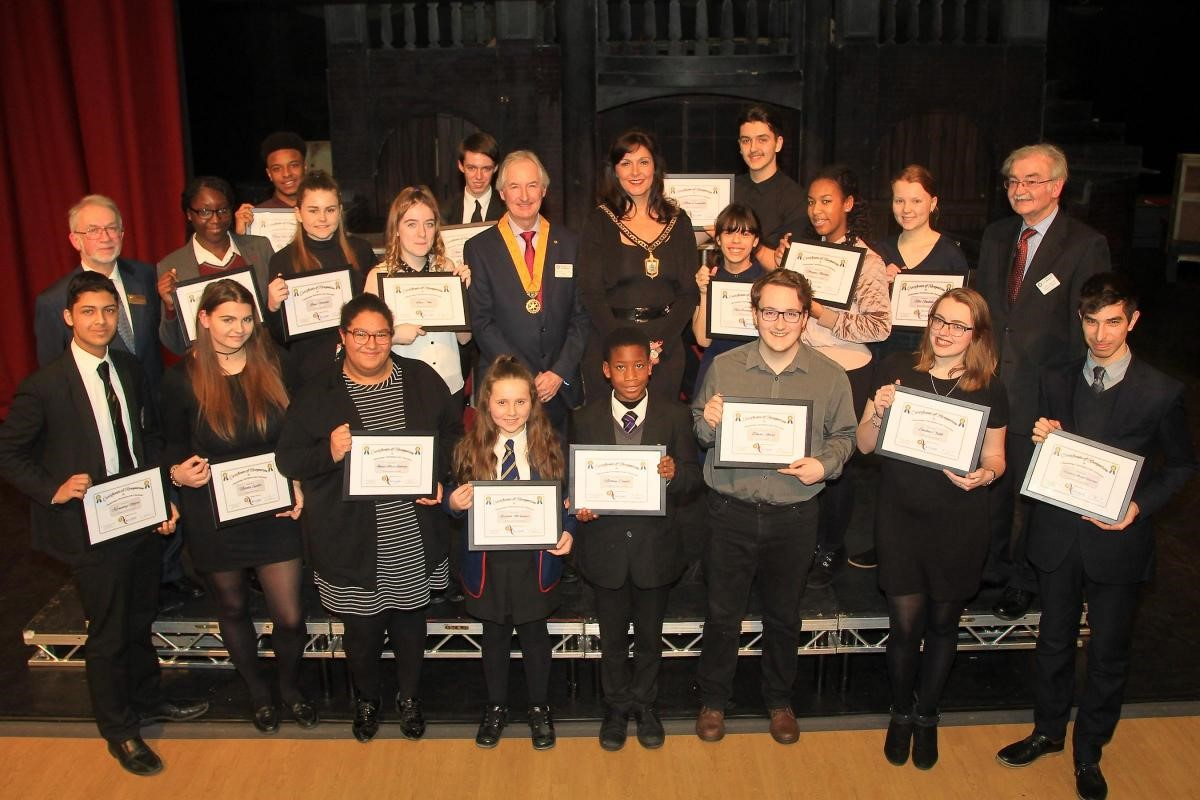Bromley youth awards 2017