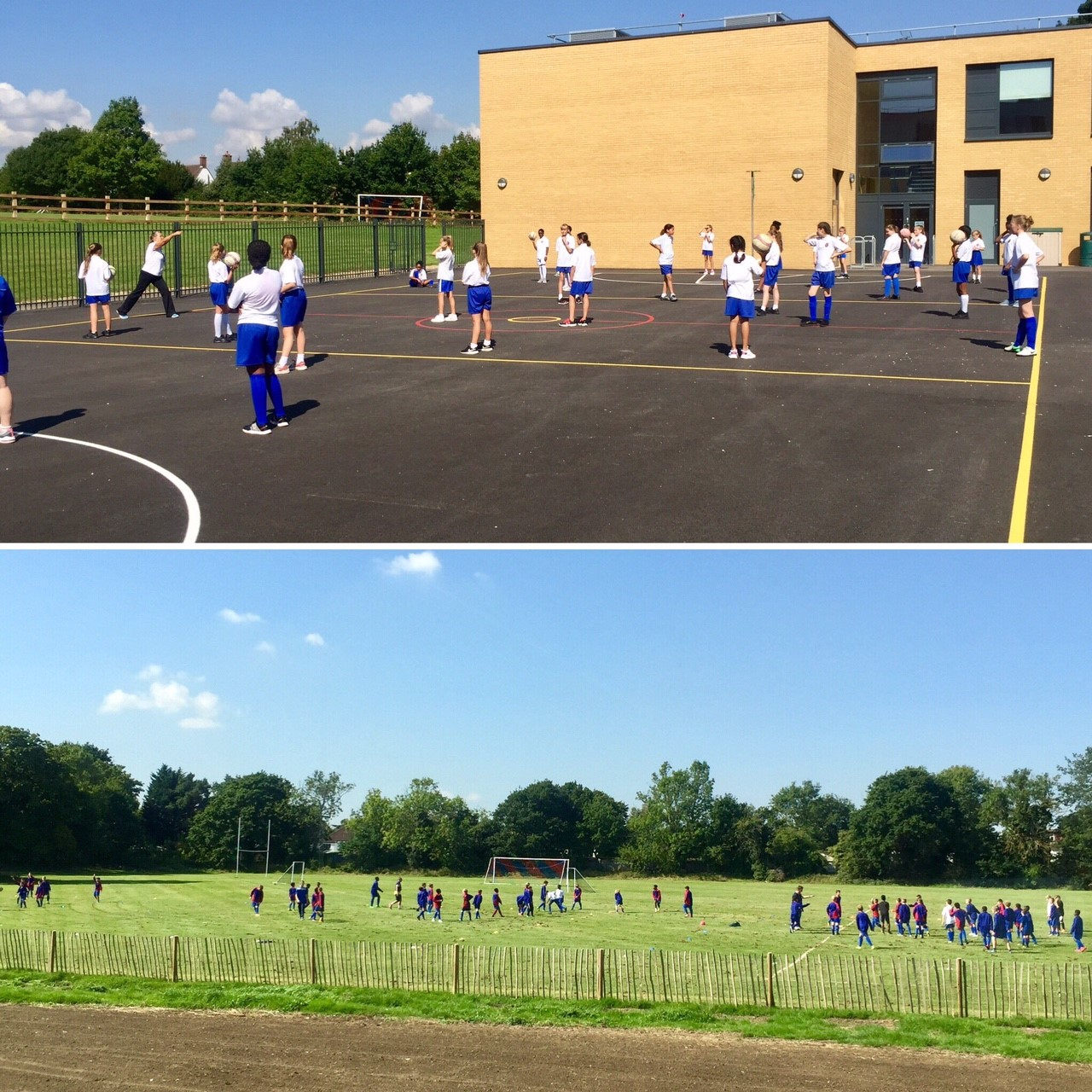 Y7 Sports Taster Day Sept 17 2
