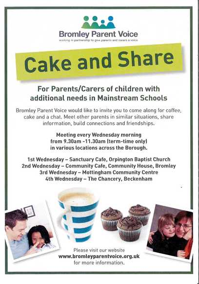 Cake and Share Sen Support