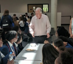 Lord Harris Visits HABE