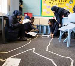 'Crime Scene' Inspires Creative Writing in Year 8
