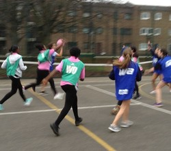 Twenty Girls Join New Year 8 Netball Squad